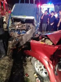 وفاة 3 اشخاص واصابة اخرين بحادث تصادم في اربد (صور)