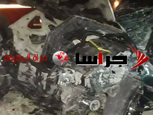 وفاة و 3 اصابات بحادث مروع في اربد (صور)