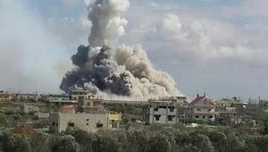 اهالي الرمثا يستيقظون على اصوات انفجارات درعا