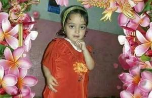 قتل طفلة وشويها على يد زوجة أبيها!!