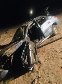 وفاتان و 3 إصابات بتدهور مركبة في وادي عربة