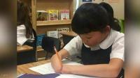 فتاة بلا يدين تفوز بمسابقة للخط (فيديو)