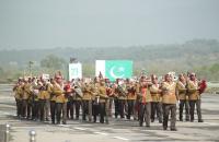 الموسيقات الأردنية تشارك في الاحتفال الوطني في الباكستان (صور)