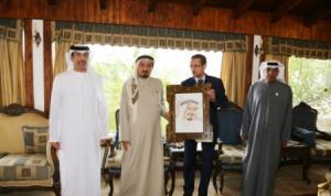 حاكم عجمان يقدم مساعدات لإغاثة المتضررين من فيضانات الأردن