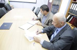 اتفاقية للتعاون بين جامعة البترا والجمعية الملكية لحماية البيئة البحرية