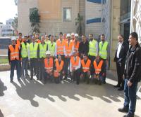 """""""القاهرة عمان"""" ينفذ تجربة ناجحة في عملية الاخلاء بمبنى الإدارة"""