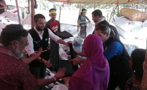 عودة وفد حملة إغاثة مسلمي الروهينغا