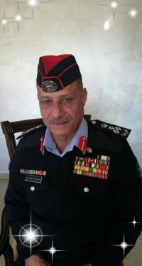 العميد الركن محمد النعيمات مبارك الترفيع