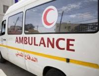 اصابة 4 من مرتبات الدفاع المدني بحادث تصادم في مادبا