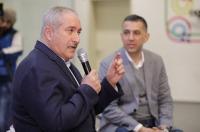 ناصر جوده يحاور الشباب في منصة زين للإبداع