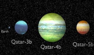قطر تعلن اكتشاف 3 كواكب نجمية جديدة ضمن المجموعة الشمسية