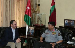 الأمير علي يطلع على استعدادات قوات الدرك للمشاركة بإنجاح بطولة كاس العالم للسيدات