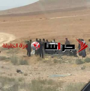 وفاة طالب هندسة بحادث سير (صور )
