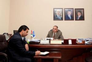 """عبدالناصر نور : نعمل لتأهيل كلية الاعمال في """"عمان الاهلية"""" للوصول للعالمية"""