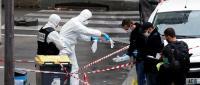 هجوم بالسكاكين قرب مقر صحيفة شارلي إيدو في باريس (فيديو)