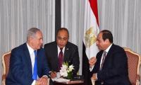 نتنياهو التقى السيسي سرا لبحث التهدئة في غزة