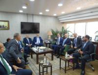 النقابة العامة للعاملين بالمناجم والمحاجر المصرية تزور البوتاس