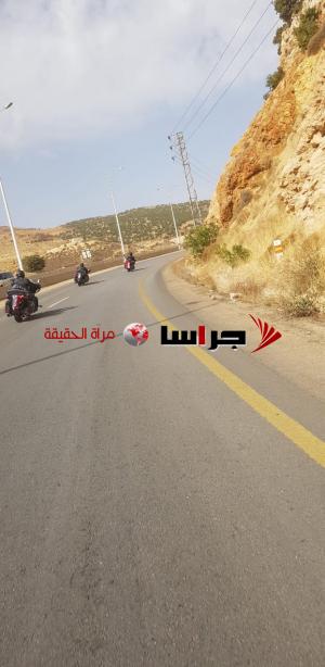 دراجو الاردن يقومون بجولة استكشافية من عمان الى دمشق وبيروت (صور)