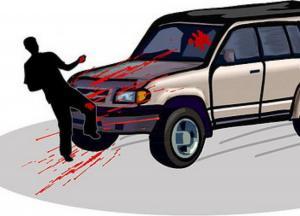 إصابة متوسطة بحادث دهس قرب إشارة الروضة