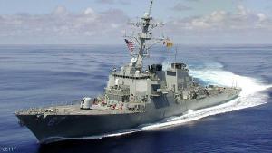 مدمرة أميركية تصطدم بسفينة يابانية