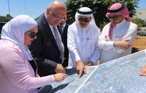 هلسه يلتقي وفد الصندوق السعودي للتنمية