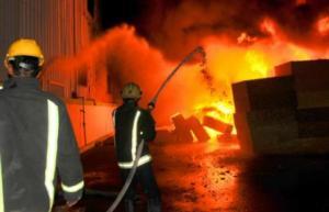 إصابة 5 أشخاص بحريق منزل في البقعة