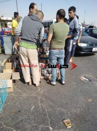 سوق للطيور أمام مستشفى في الزرقاء ومطالب بإزالته (صور)