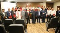 """""""الشرق الأوسط"""" تحتفل باختتام دورة الإرشاد الأسري لفوجي عمان ومأدبا"""