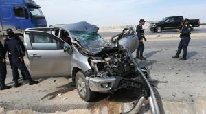12 إصابة بحادثين في البلقاء ومادبا