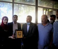 عمان الاهلية مع اوائل التوجيهي في فلسطين (صور)