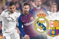 التشكيلة المتوقعة لبرشلونة وريال مدريد