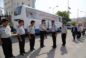 افتتاح سوق جديد للمؤسسة الاستهلاكية العسكرية في معان