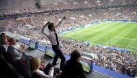 شاهد كيف احتفل ماكرون بفرنسا (صور)