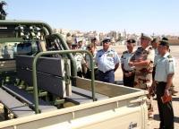 الجيش يتسلم دفعة من الآليات العسكرية