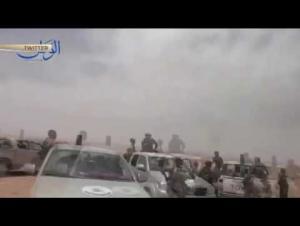 مروحية روسية تقصف معاقل للإرهابيين قرب الحدود الأردنية السورية (فيديو)