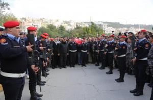تشييع جثماني الجالودي والعتوم في ماحص وجرش(صور)
