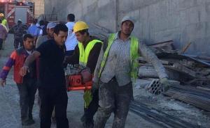 اصابة 13 شخصاً بانهيار في توسعة مكة مول (صور)