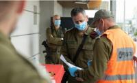 """إصابة ضابط """"اسرائيلي"""" كبير بالكورونا"""