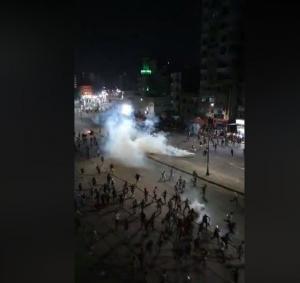 شغب ومظاهرات واسعة في السويس تطالب برحيل السيسي