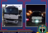 ضبط سائقي حافلتين عرضا ركابهما للخطر في عمان