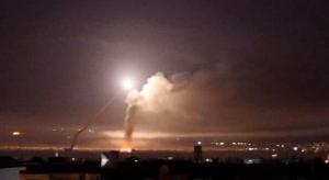 طيران الاحتلال يقصف دمشق