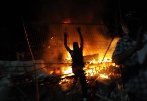"""اربد  ..  مشاجرة عشائرية وحرق منزل في """" كفر جايز"""""""
