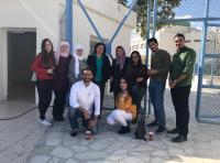 """طلبة قسم النطق بـ""""عمان الاهلية"""" يجرون مسحا لغويا لتلاميذ مدارس"""