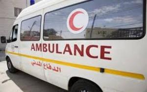10 اصابات بحادثي تصادم في عمان والبلقاء