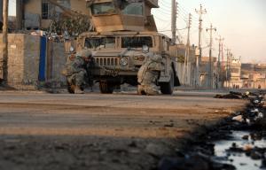القوات العراقية تتوغل في أحياء غرب الموصل