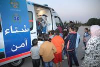 """الدفاع المدني يُنظم مبادرة """"شتاء آمن"""" في اربد (صور)"""