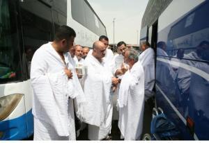 بدء تفويج الحجاج الأردنيين وعرب الـ48 الى مكة المكرمة