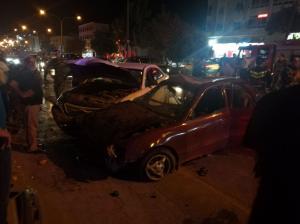 """8 اصابات بتدهور مركبة أمام """" الهاشمية"""""""