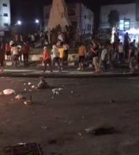 احتجاج على دوار الرمثا (فيديو)