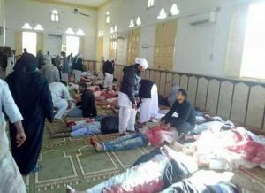 مصر : 54 قتيلا و 75 جريحا بهجوم استهدف مسجدا شمال سيناء (صور)